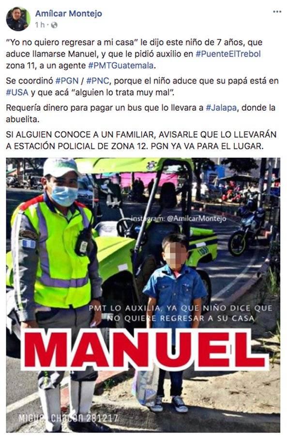 Publicación de Amílcar Montejo