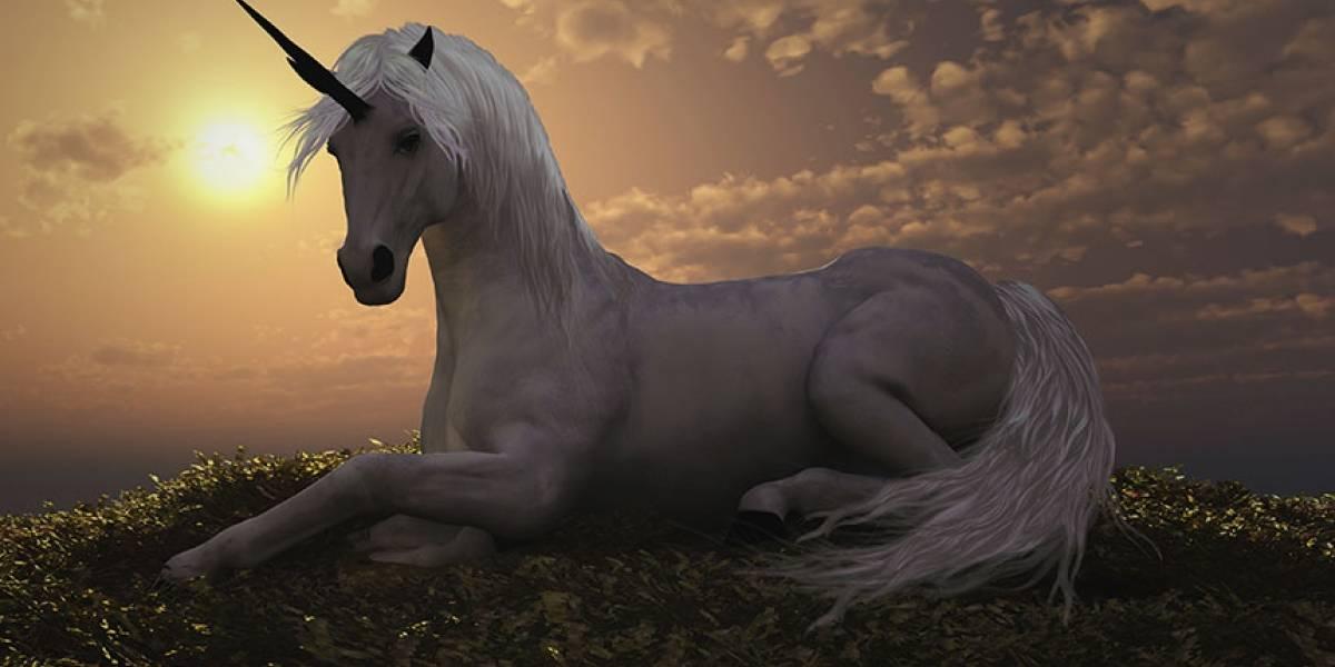 El 'último unicornio' no era azul
