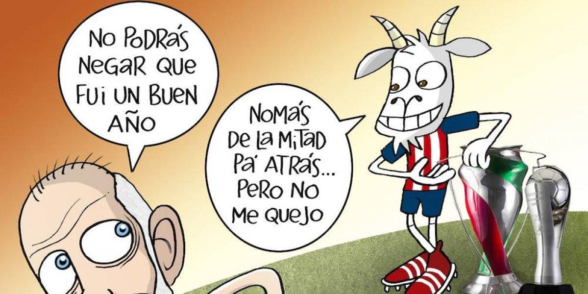 ¿Fue un buen 2017 para Chivas? el cartón del día