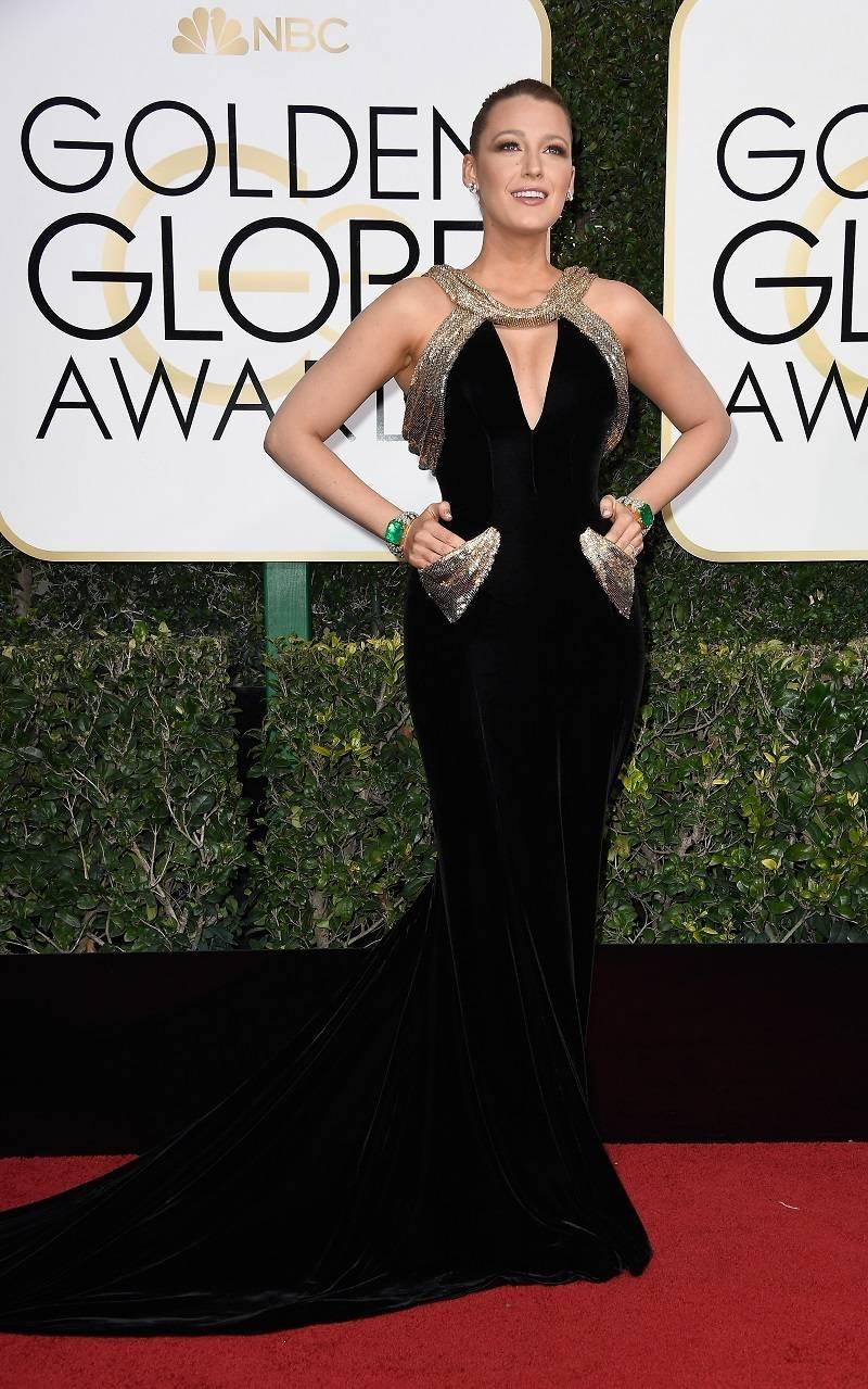 Blake Lively (Golden Globes)