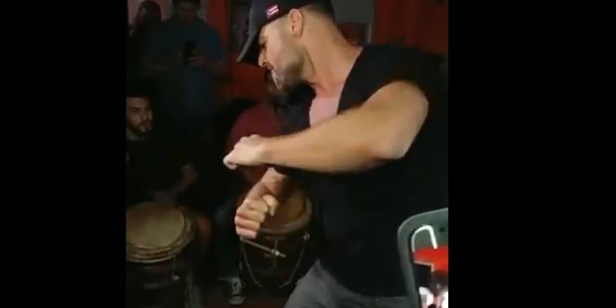Ricky Martin sorprende bailando bomba en Río Piedras