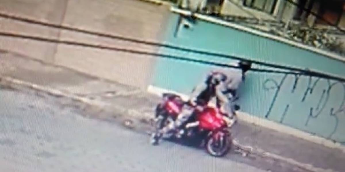 Videos de asalto en Tumbaco circula en redes sociales
