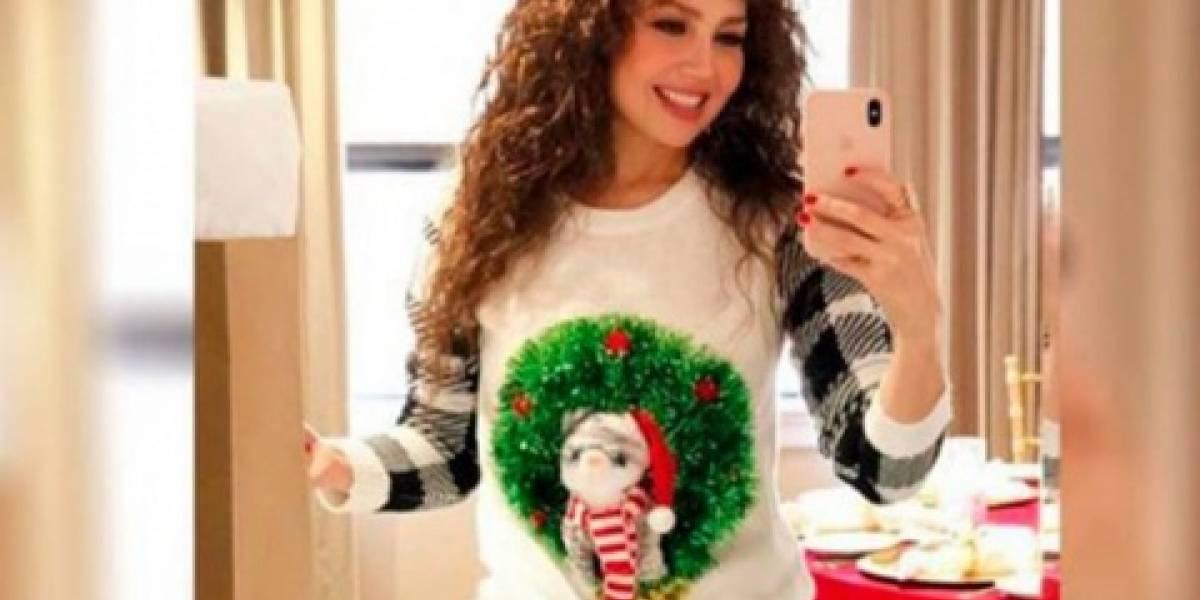 Thalía no aguanta las críticas y borra fotografía