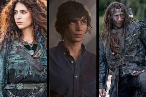 Luna, Roan e Jasper – The 100