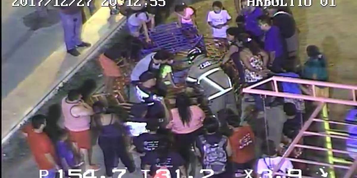 Rescate de niña atrapada en juego mecánico se coordinó desde el ECU 9-1-1 Machala