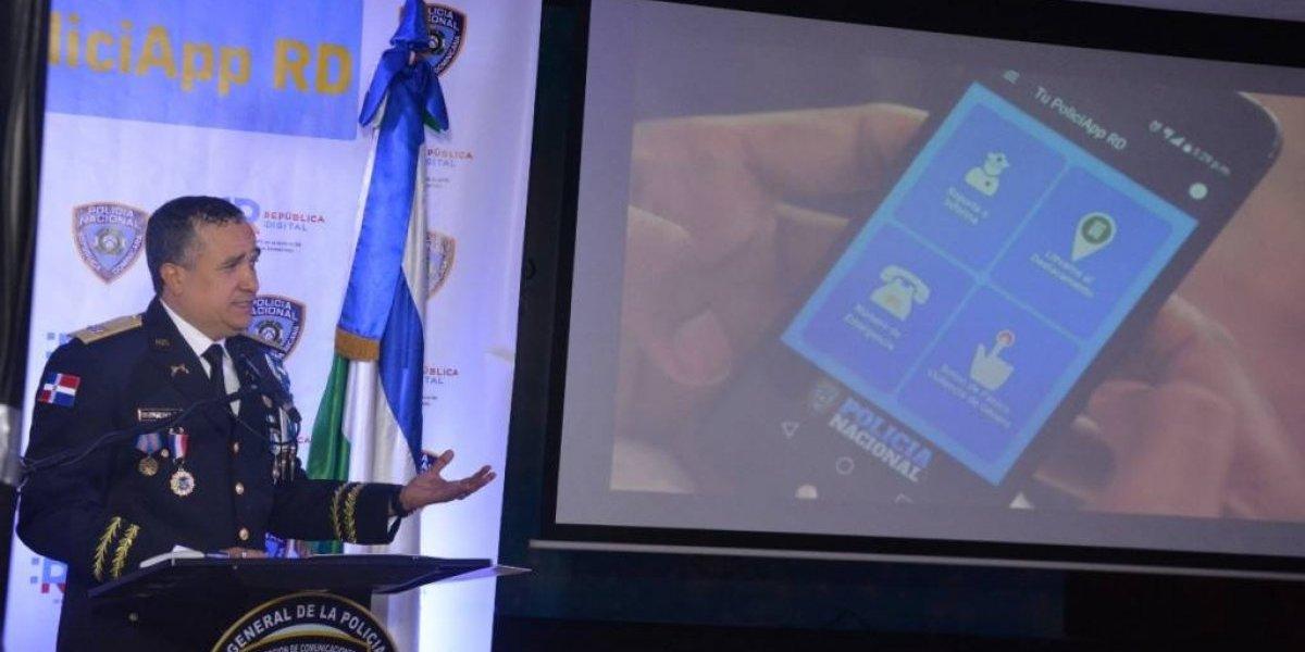 PN pone a funcionar aplicación para reportar delitos