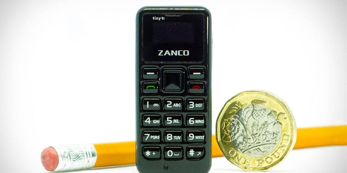 Menor celular do mundo tem menos de 5 cm