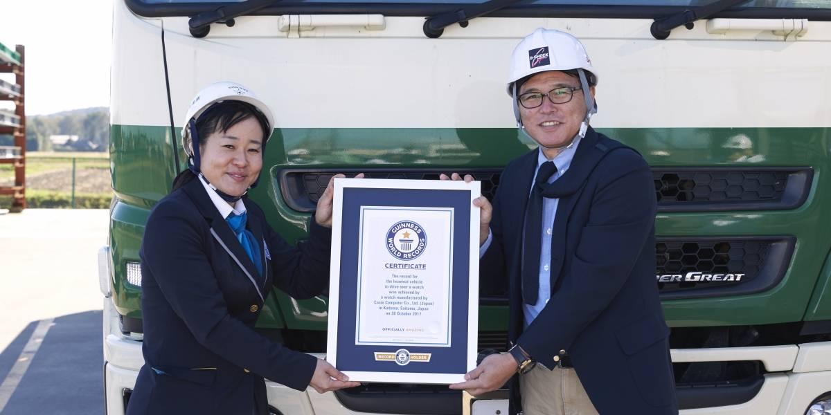 Reloj más resistente del mundo rompió record Guinness