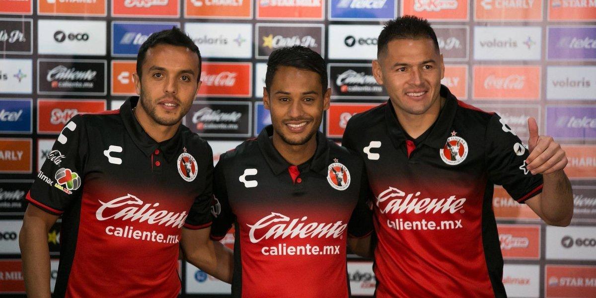 Tijuana presentó a sus tres refuerzos para el Clausura 2018