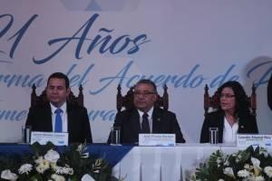 21 aniversario de la firma de los Acuerdos de Paz