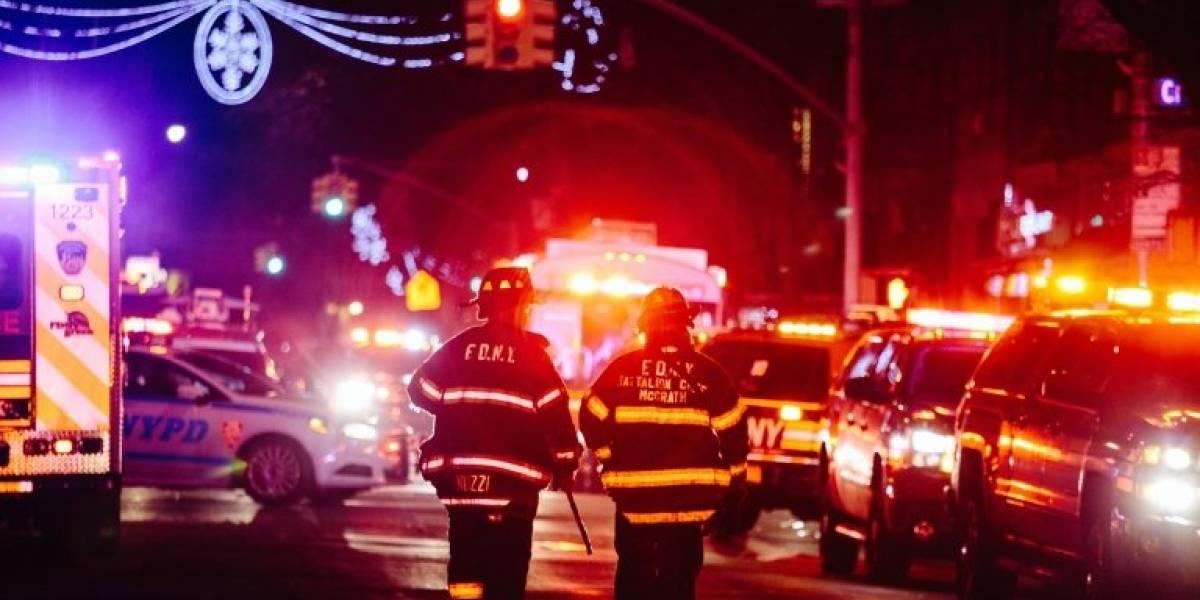 Registran incendio en edificio de departamentos en NY