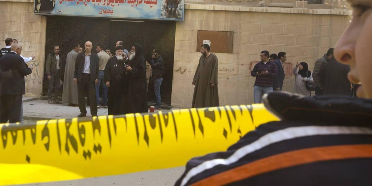 Diez muertos en un ataque ante una iglesia de El Cairo