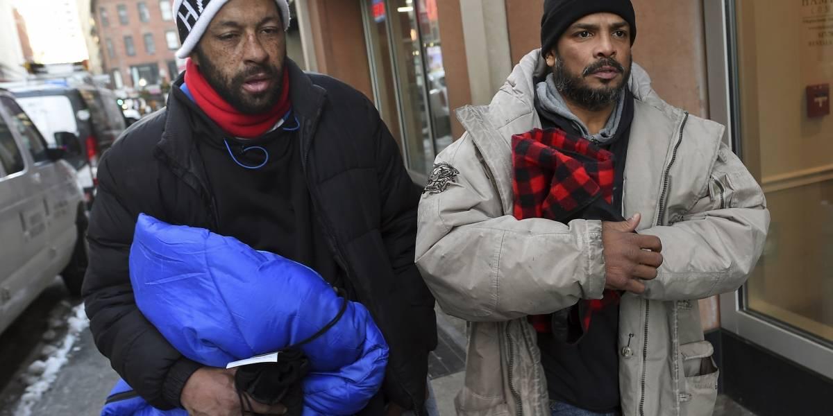 Población vulnerable en EE. UU. en peligro bajo ola de frío