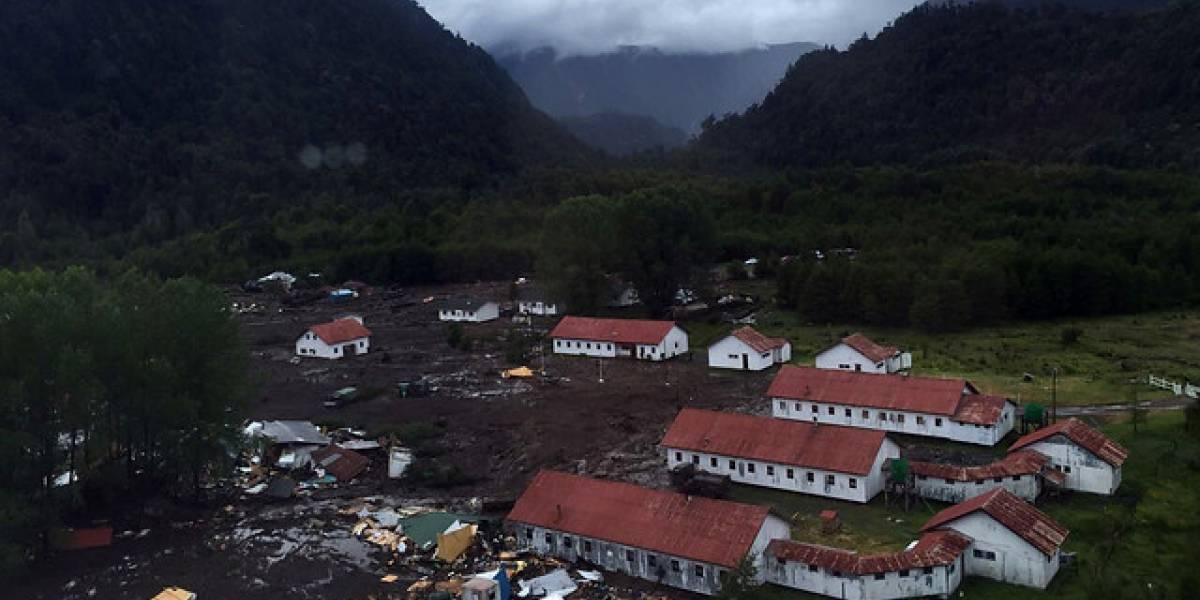 Siguen las intensas lluvias en Villa Santa Lucía y persiste riesgo de aluviones tras tragedia