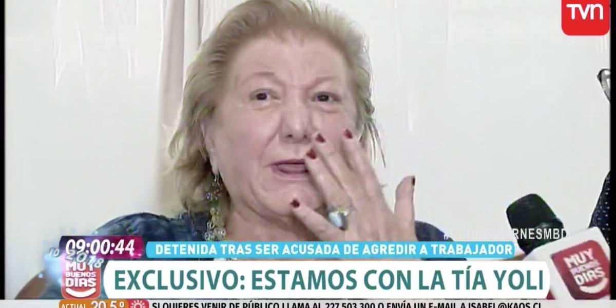 """""""¡Me voy a matar!"""": Las angustiantes palabras de la Tía Yoli tras supuesta agresión a un extranjero"""