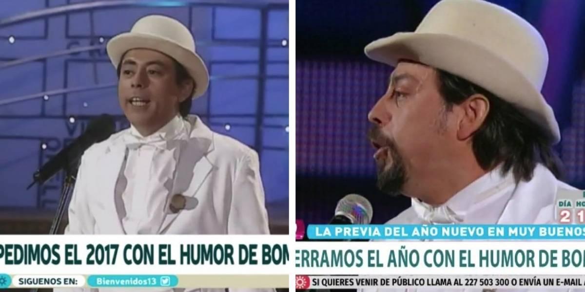 La vieja confiable: Las críticas a TVN y Canal 13 por despedir el 2017 con rutinas de Bombo Fica