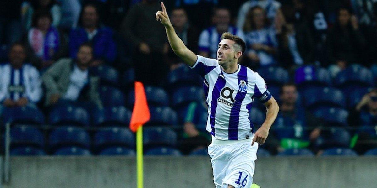 Porto quiere renovar contrato con el mexicano Héctor Herrera