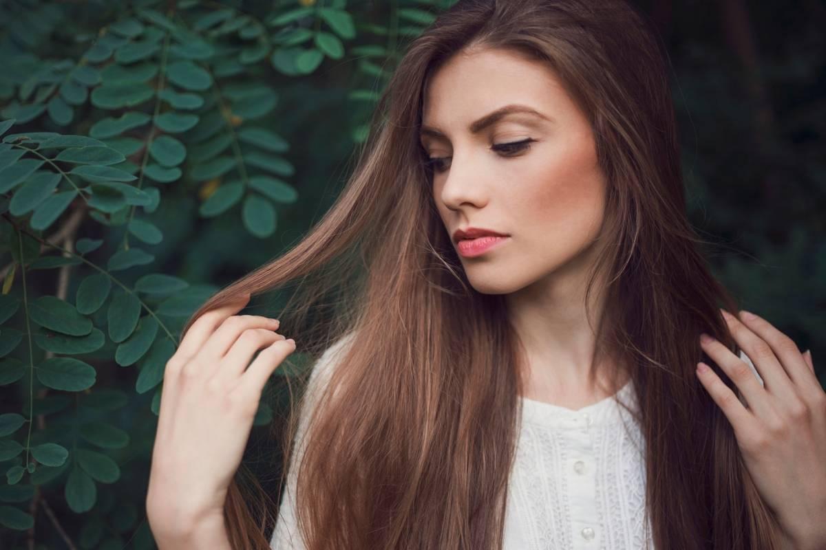 Corte de pelo desmechado manteniendo el largo