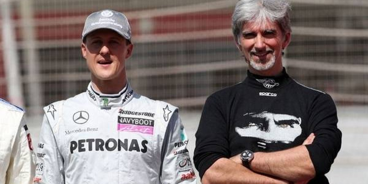 Histórico rival de Schumacher le mandó curioso mensaje a cuatro años de su accidente