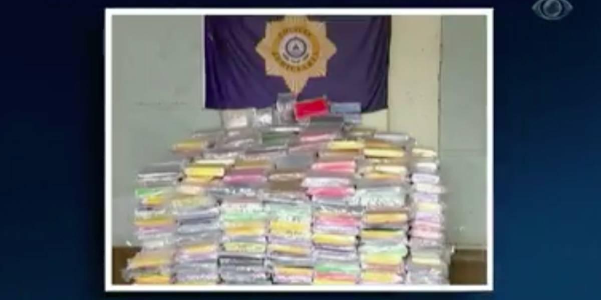 Brasileiros são presos na África com 1 tonelada de droga em veleiro