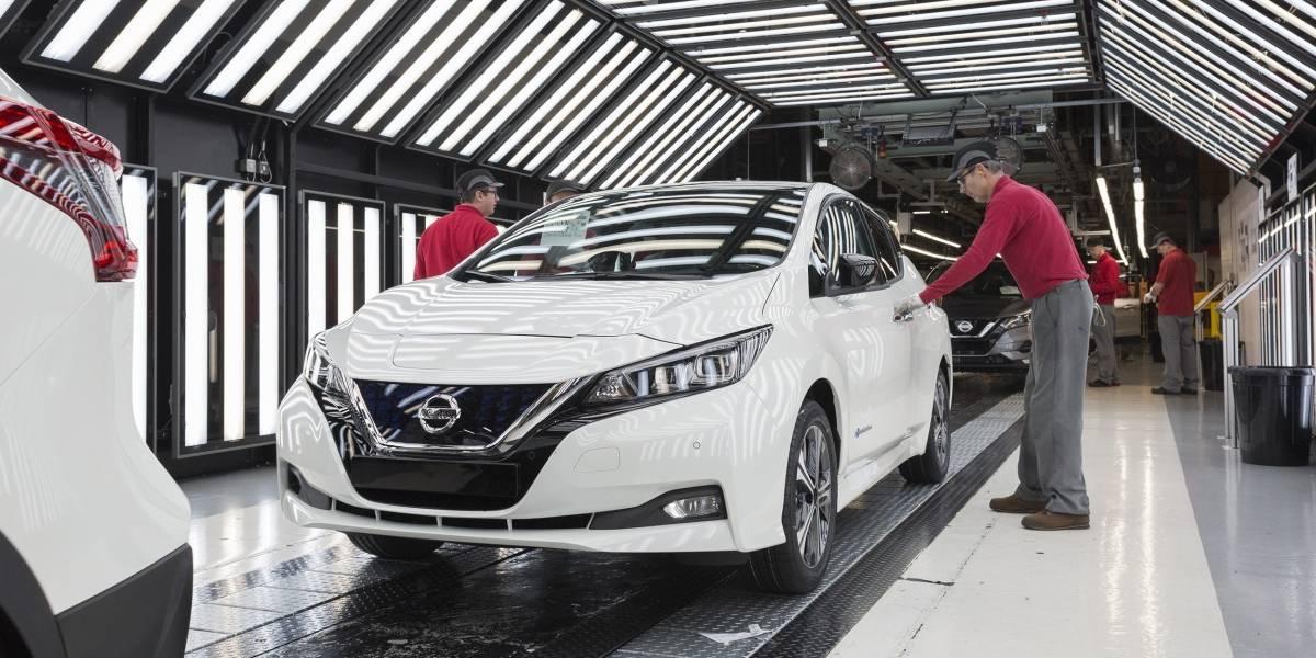 Nissan comienza la producción de su auto eléctrico en Inglaterra