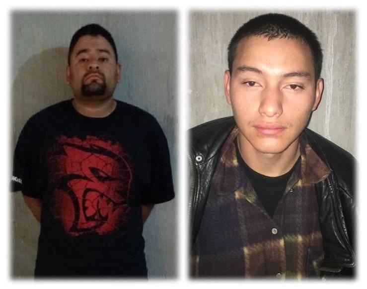 padre y tío de niño secuestrado rescatado en Ciudad Peronia