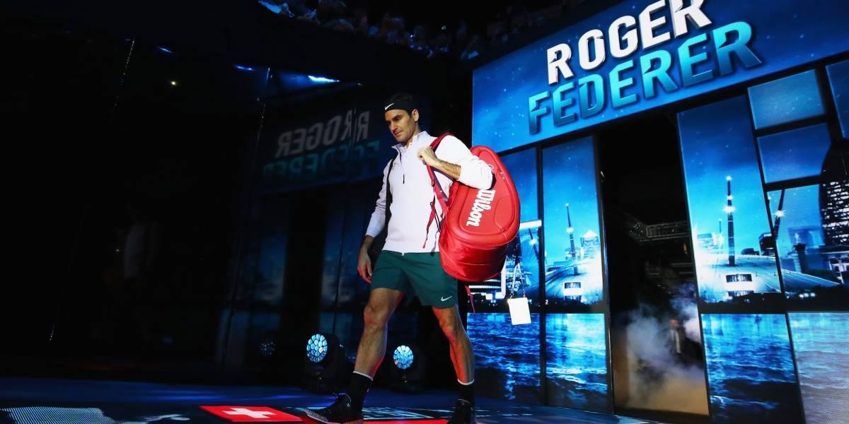 Eligen a Roger Federer como el mejor deportista del 2017