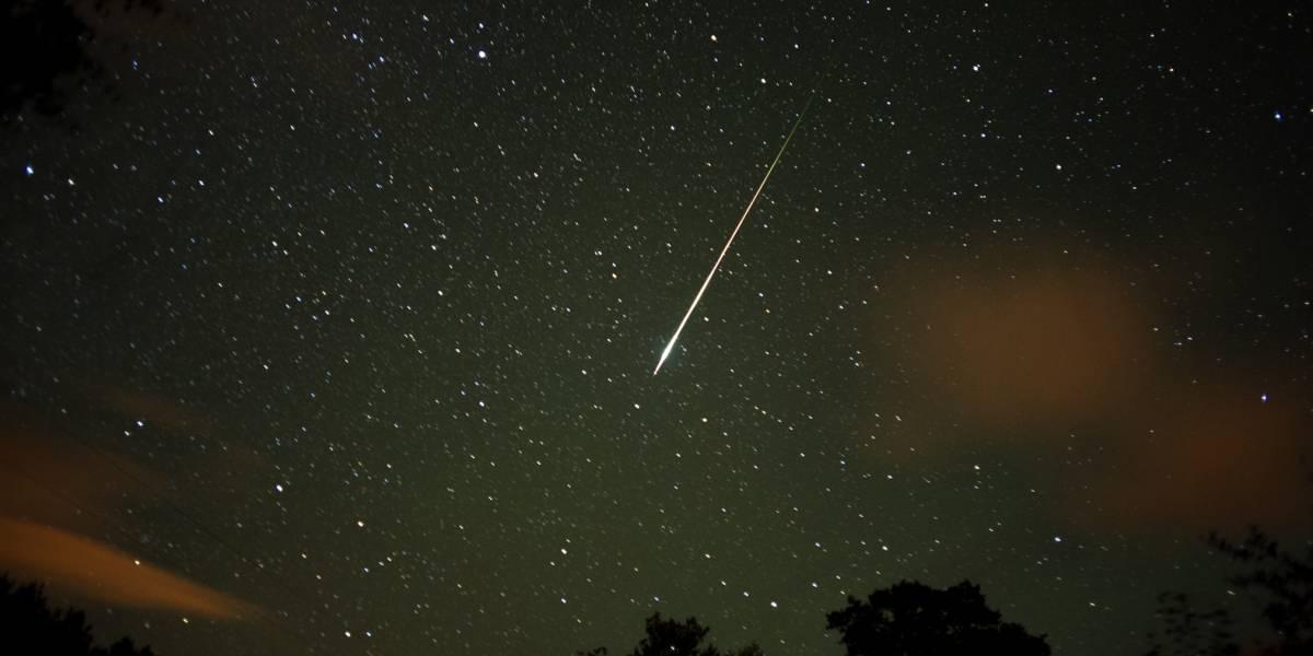Sorprendente lluvia de estrellas fugaces la próxima semana