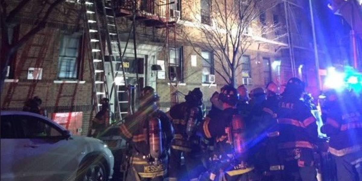 Incendio en Nueva York deja al menos 12 muertos