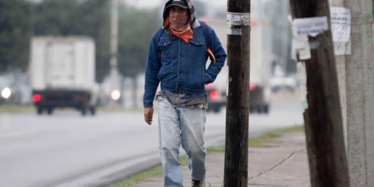 Alertan por bajas temperaturas en NL, Tamaulipas y Coahuila