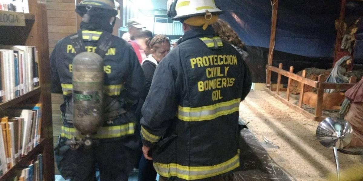 Ladrones prenden fuego a la biblioteca más importante de Jalisco