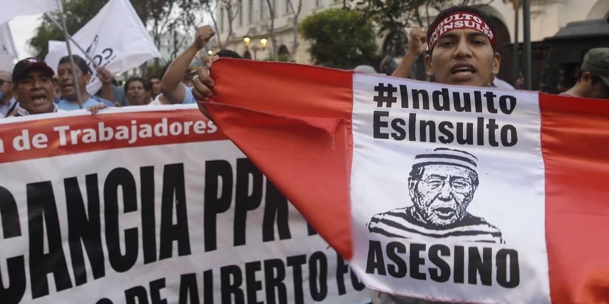 "Mario Vargas Llosa cataloga de ""infamia"" el indulto a Fujimori"