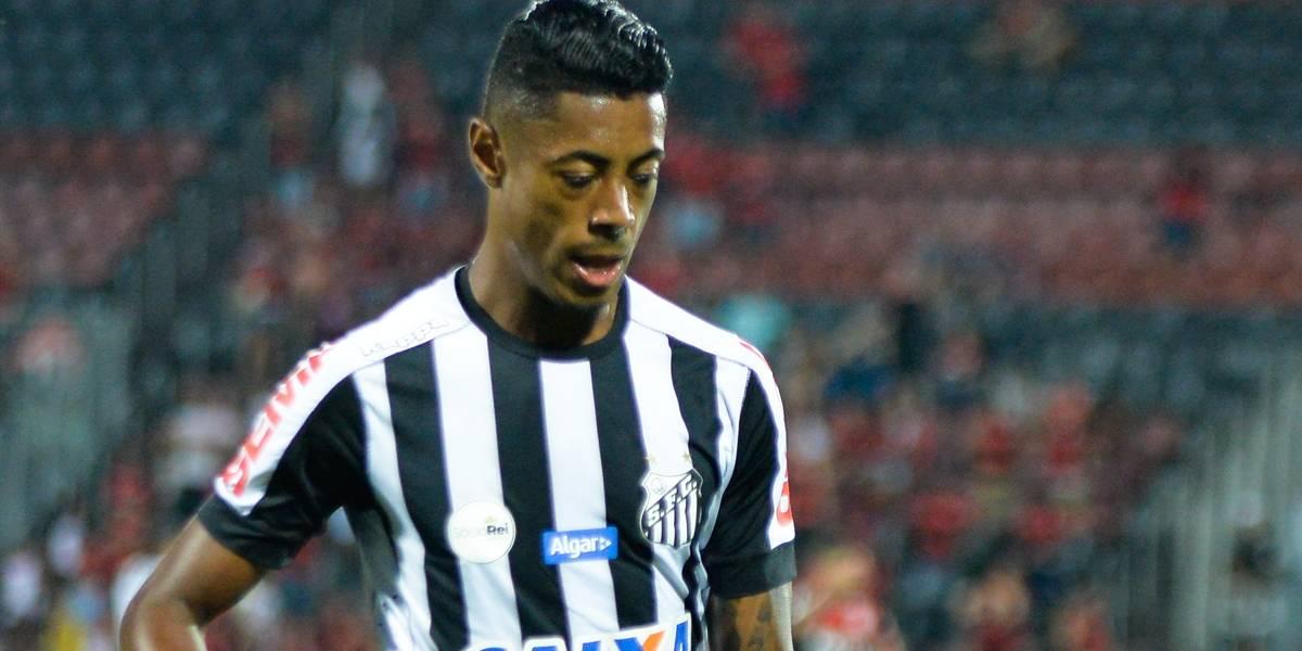 Suspensão de Bruno Henrique por cinco jogos desfalca Santos na Libertadores