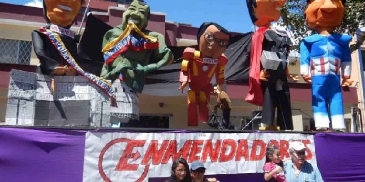 'Raras' tradiciones para recibir el Año Nuevo en América Latina