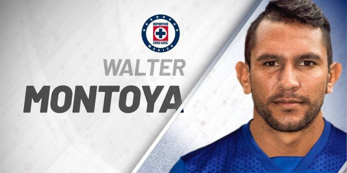 ¡Oficial! Walter Montoya es nuevo jugador de Cruz Azul