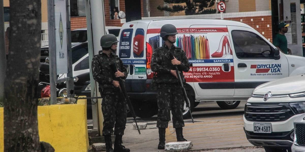 Mesmo com Exército nas ruas de Natal, crimes continuam