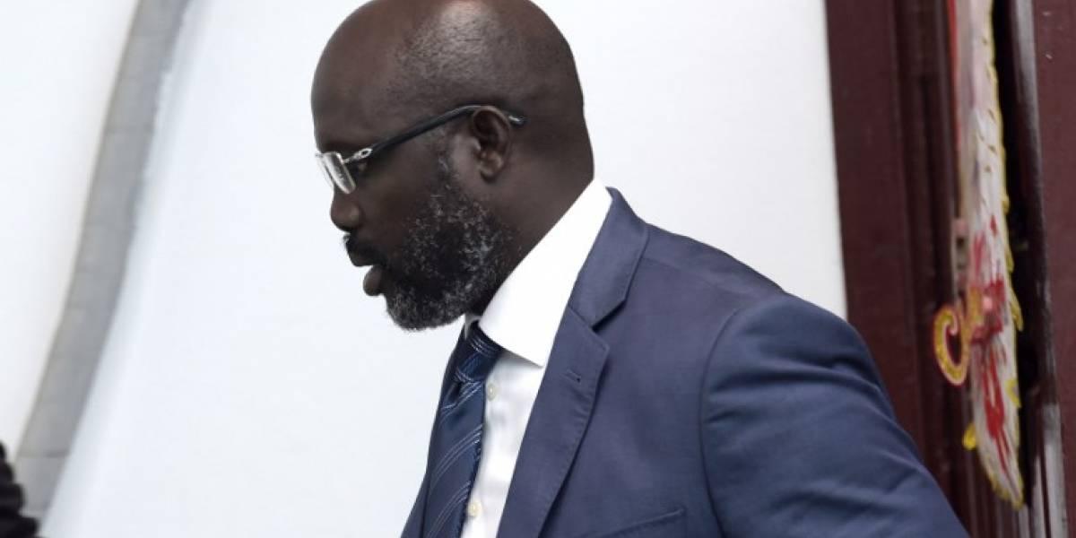 """El presidente electo George Weah promete """"mejorar la vida de los liberianos"""""""