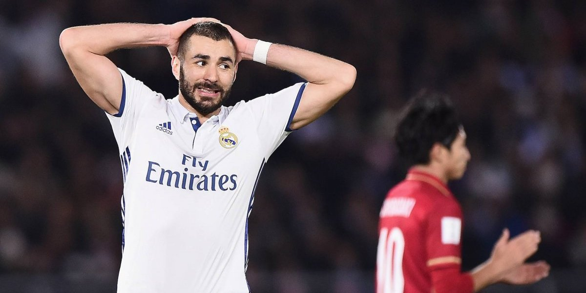 Benzema es baja del Real Madrid por lesión