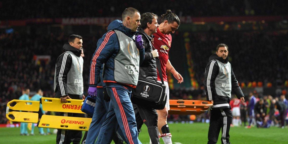 Mourinho confirmó la baja de Ibrahimovic