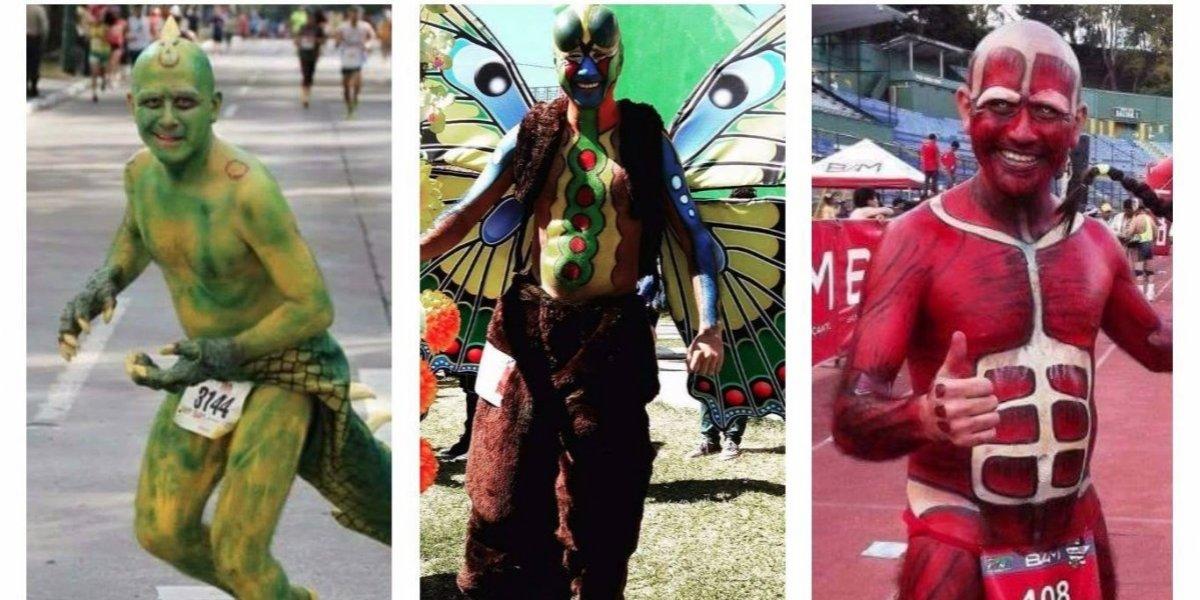 Guatemalteco Pablo Wong va por la hazaña en la tradicional Carrera San Silvestre
