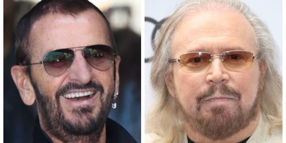 Ringo Starr y Barry Gibb son reconocidos con el título de caballeros británicos