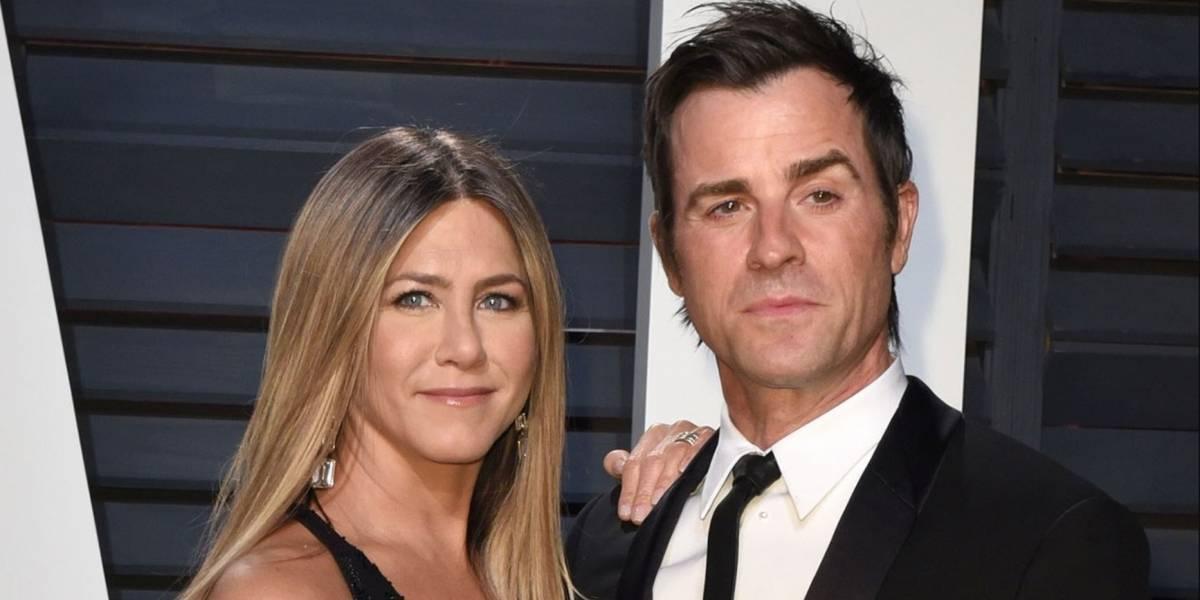 Jennifer Aniston y Justin Theroux estarían al borde del divorcio
