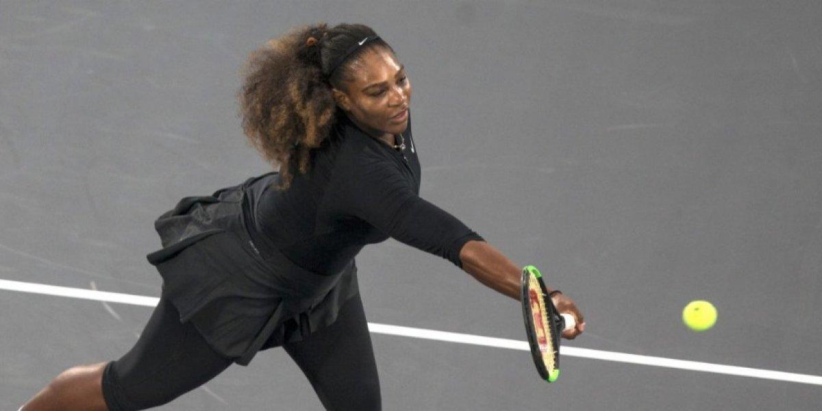 El regreso de Serena Williams a las canchas no fue el esperado