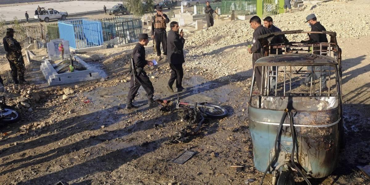 Al menos doce muertos por un atentado durante un funeral en Afganistán