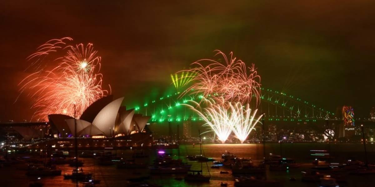Al otro lado del mundo ya es Año Nuevo: así comenzaron las celebraciones para dar la bienvenida al 2018