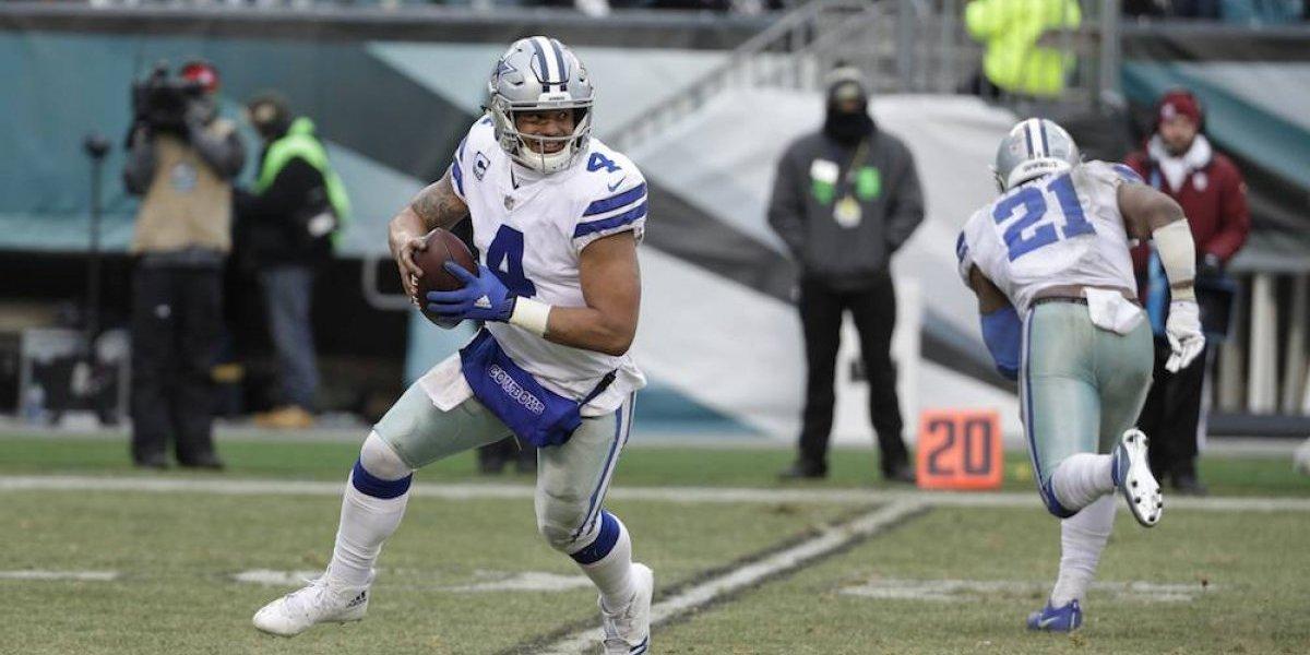 Dallas cierra la temporada de la NFL con triunfo