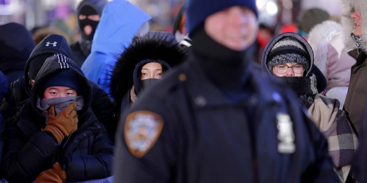 Bajo vigilancia más de un millón de personas en ceremonia de Año Nuevo en NY