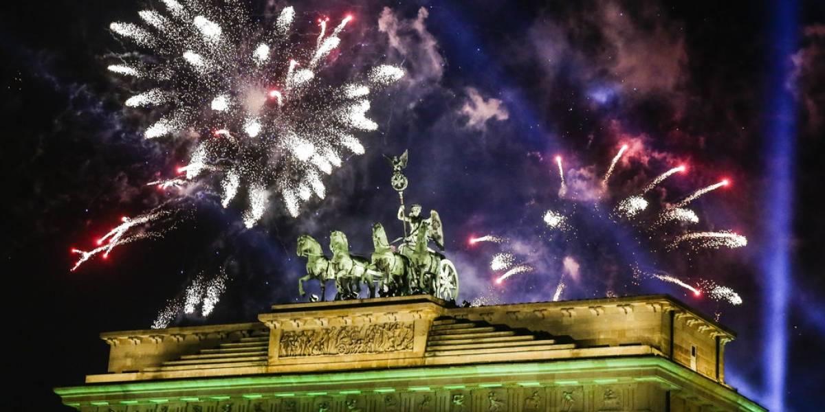 Aquí te mostramos los festejos de Año Nuevo en el mundo