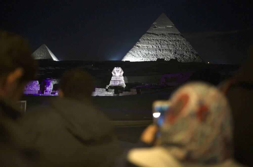 Pirámides de Giza en Egipto Foto: AP