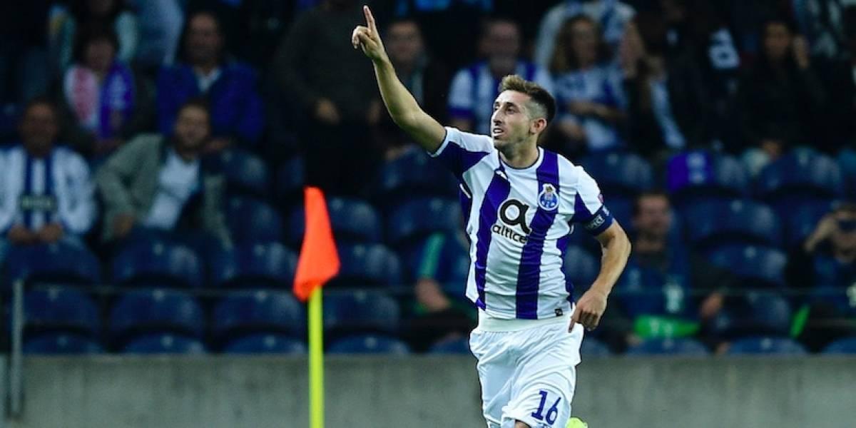 Técnico del Porto lamenta expulsión de Héctor Herrera